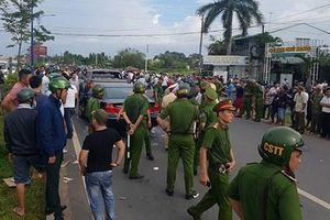Vụ giang hồ vây xe công an ở Đồng Nai: Tạm đình chỉ công tác 2 trung tá