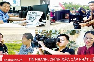 Nghe nhà báo Hà Tĩnh kể chuyện nghề