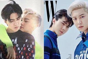 Chanyeol và Sehun (EXO) 'tình bể bình' đậm chất đam mỹ trước ngày trở lại đường đua Kpop tháng 7