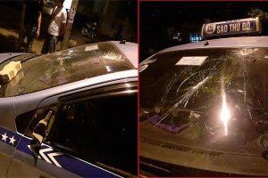 Nghi bị 'chặt chém', nhóm người nước ngoài đánh hội đồng tài xế taxi