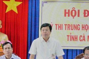 Cà Mau dự chi 5,2 tỷ tổ chức thi THPT Quốc gia cho hơn 9.000 thí sinh