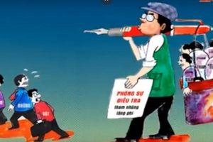 Nhà báo và ngòi bút trên mặt trận phòng, chống tham nhũng