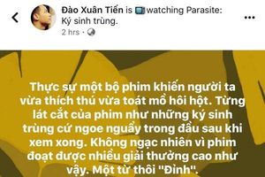 Cư dân mạng giành 'cơn mưa lời khen' cho phim điện ảnh Hàn Quốc 'Parasite - Ký sinh trùng'
