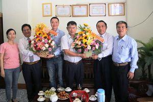 Lãnh đạo tỉnh Khánh Hòa, thành phố Nha Trang thăm và chúc mừng Ngày báo chí cách mạng Việt Nam 21-6-2019