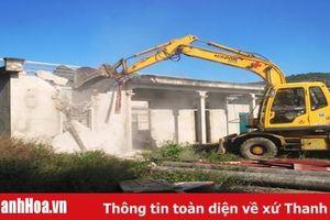 Huyện Tĩnh Gia tổ chức cưỡng chế, thu hồi đất thực hiện Dự án đầu tư thêm một đơn nguyên cầu vượt