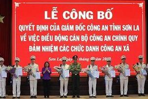 Công an tỉnh Sơn La tăng cường Công an chính quy về cơ sở