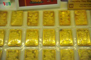 Giá vàng SJC tiếp tục duy trì ngưỡng trên 38 triệu đồng/lượng
