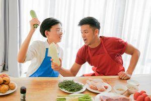 Trọng Hiếu 'mạo hiểm' thi nấu ăn cùng Vua đầu bếp nhí