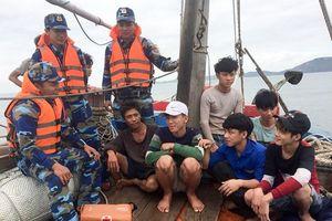 Gắn bó cùng ngư dân, cảnh sát biển bảo vệ chủ quyền biển đảo