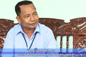 Chủ tịch xã từ chức rồi 'mất tích': Đưa theo vợ con
