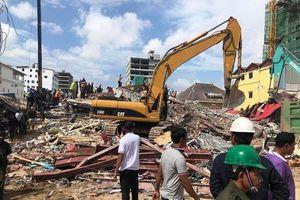 Bảy người thiệt mạng trong vụ sập công trình tại tỉnh Preah Sihanouk