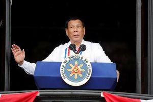 Tổng thống Philippines Duterte tuyên bố không sợ Trung Quốc