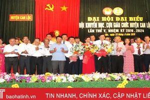 Chung sức vì sự nghiệp khuyến học, khuyến tài ở Can Lộc