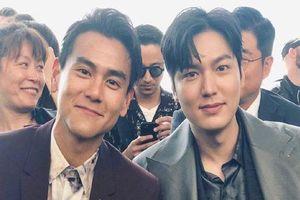 Đẹp trai chẳng ai dám chê nhưng Lee Min Ho bất ngờ bị 'lấn át' khi chung khung hình ngôi sao xứ Trung