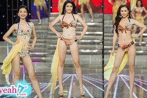 Choáng ngợp khoảnh khắc dàn thí sinh Chung khảo phía Nam Hoa hậu Thế giới Việt Nam 2019 khoe dáng với bikini