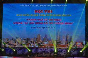Hội thi Tuyên truyền lưu động TPHCM - Cụm 3 sôi động tại Nhà Văn hóa quận 9