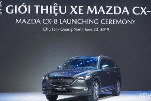Mazda CX-8 chính thức trình làng tại Việt Nam, giá khởi điểm từ 1,199 tỷ VNĐ