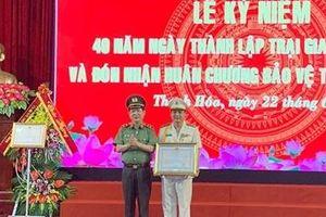 Trại giam Thanh Lâm đón nhận Huân chương Bảo vệ Tổ quốc hạng Nhì