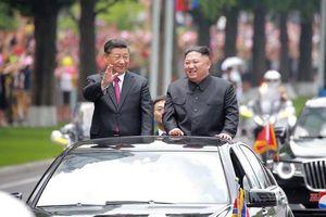 Trung-Triều gửi đi thông điệp về 'tình hữu nghị không thể lay chuyển'