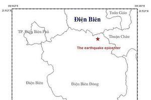 Động đất 3,8 độ richter tại Điện Biên, nhà cửa rung lắc