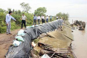 Ứng phó tình trạng sạt lở, sụt lún ở đồng bằng sông Cửu Long