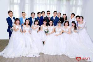 Đám cưới tập thể 'Giấc mơ có thật' của 65 cặp đôi là người khuyết tật tại Hà Nội