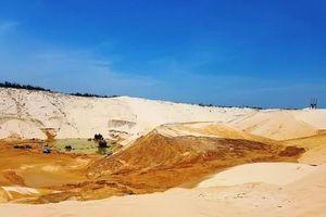 Vụ sụt cát mỏ titan ở Quảng Bình: Tìm thấy thi thể công nhân mất tích