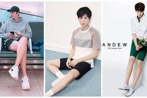 Ngoài Lee Min Ho, Kbiz còn đầy rẫy mỹ nam sở hữu đôi chân cực phẩm, đến phái đẹp cũng phải ghen tị