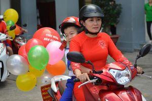Gia đình nơi giáo dục văn hóa giao thông tốt nhất cho con trẻ