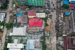 Con số thương vong mới nhất trong vụ sập nhà cao tầng ở Campuchia