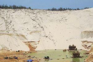 Tìm thấy thi thể công nhân mất tích vì lở cát mỏ titan tại Quảng Bình
