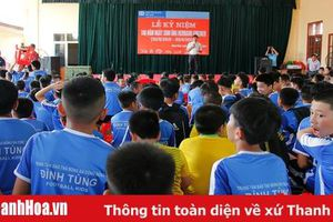 Kỷ niệm 100 năm ngày sinh người sáng lập Làng trẻ em SOS; tổ chức tặng quà, giao lưu bóng đá nhân tháng hành động vì trẻ em