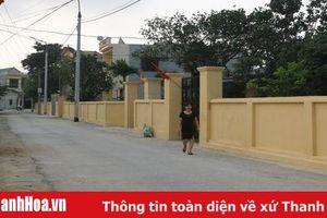 Xây dựng đường điện chiếu sáng công cộng ở huyện Hoằng Hóa: Phát huy sức mạnh cộng đồng