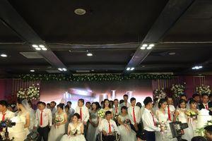 Đám cưới tập thể 'Giấc mơ có thật' lần II cho những người đặc biệt