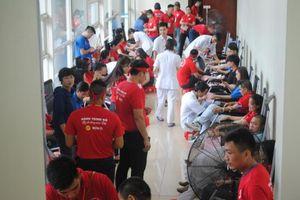 Hành trình Đỏ lần thứ 4 tại Quảng Ninh thu được 626 đơn vị máu