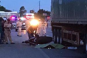 Nữ cán bộ coi thi THPT quốc gia gặp tai nạn tử vong