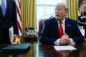 TT Trump giáng trừng phạt nhằm vào lãnh đạo tối cao của Iran