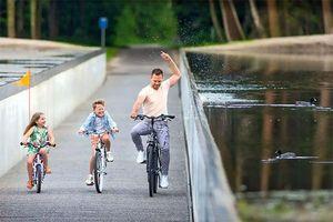 Loạt kiến trúc 'ưu ái' xe đạp đầy ấn tượng của thế giới