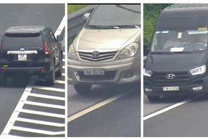 Liên tiếp xử lý các tài xế lùi xe nguy hiểm trên cao tốc Hà Nội - Hải Phòng