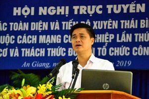 Hội nghị trực tuyến về Hiệp định CPTPP cho 1.800 cán bộ CĐ