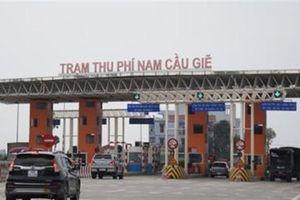 Đề xuất nhượng quyền khai thác Cầu Giẽ - Ninh Bình 9.171 tỷ