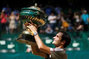 Vô địch Halle mở rộng, Federer chạy đà hoàn hảo cho Wimbledon