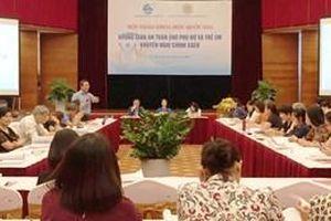 Đề xuất giải pháp và chính sách để bảo vệ phụ nữ, trẻ em