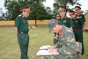 Binh chủng Pháo binh tổ chức Hội thi cán bộ huấn luyện giỏi năm 2019