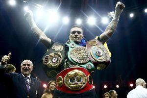 Chuyện hài ở WBO: Usyk chưa từng thượng đài hạng nặng, vẫn được phong là Kẻ thách thức đai vô địch
