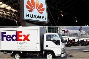 Trung Quốc yêu cầu Tập đoàn FedEx giải thích về vụ việc liên quan Huawei