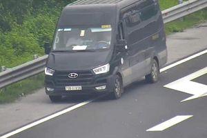 Liên tiếp xử lý các trường hợp lùi xe trên cao tốc Hà Nội - Hải Phòng