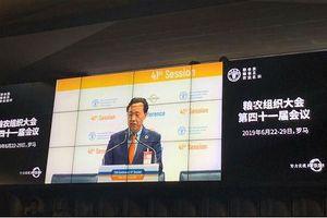 Thứ trưởng Trung Quốc được bầu làm Tổng giám đốc FAO