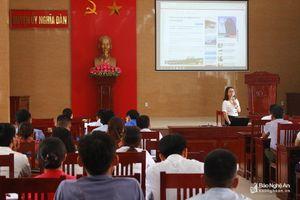 Tập huấn kỹ năng báo chí cho báo cáo viên, cán bộ tuyên giáo cơ sở