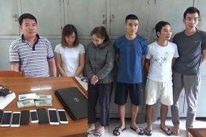 Thanh Hóa: Triệt phá đường dây đánh bạc qua mạng hơn 30 tỷ đồng